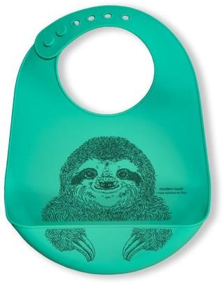 Modern Twist Bucket Bib - Silly Sloth
