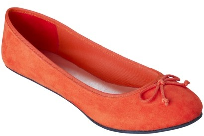 Merona Madge Ballet Flats Orange