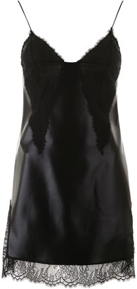 Philosophy di Lorenzo Serafini Lace Detail Mini Dress