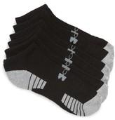 Under Armour Men's Heatgear 3-Pack No-Show Socks