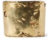 Ralph Lauren Distressed Brass Cuff
