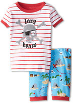 "Hatley Treasure Island ""Lazy Bones"" Short PJ Set (Toddler/Little Kids/Big Kids)"