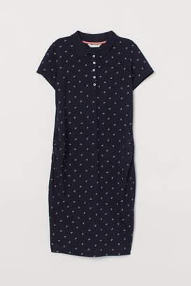 H&M MAMA Pique dress