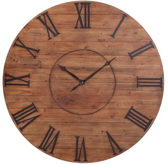 Pottery Barn Thompson Wooden Wall Clock