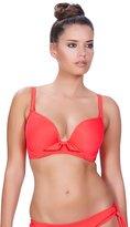 Freya Womens Deco Swim Underwired Moulded Bikini Top