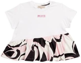 Emilio Pucci Junior Heliconia Logo T-Shirt (4 Years)