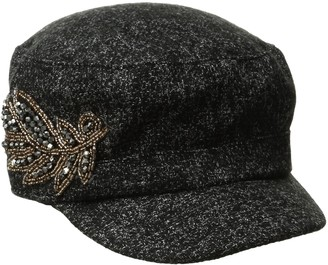 Collection XIIX Women's Patch Military Hat