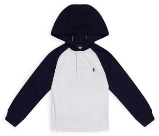 Ralph Lauren Kids Raglan Hooded Sweater (6-14 Years)