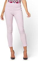 New York & Co. 7th Avenue Pant - High-Waist Pull-On Ankle Legging - Lavender - Petite