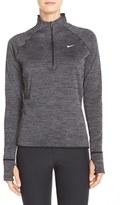 Nike 'Element' Sphere Half Zip Running Shirt