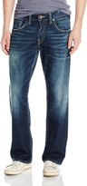 Silver Jeans Men's Gordie Dark Wash Straight Leg Jean