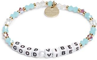 Good Vibes Beaded Stretch Bracelet
