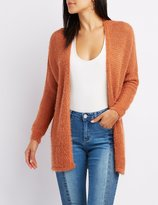 Charlotte Russe Fuzzy Slouchy Cardigan