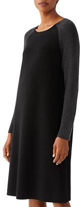 Eileen Fisher Raglan Merino Wool Sweater Dress