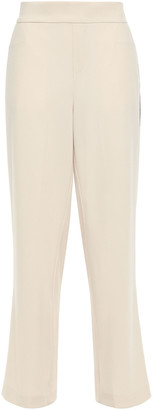 Charli Crepe Wide-leg Pants