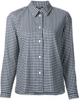 A.P.C. long sleeve checked shirt