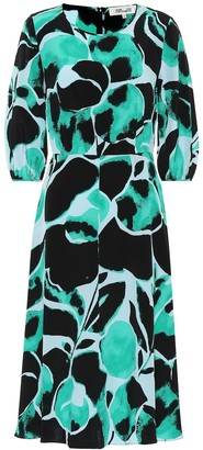 Diane von Furstenberg Bliss silk crepe de chine dress