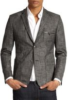 Versace Bicolor Suiting Jacket