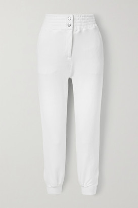 The Range Element Stretch French Cotton-terry Track Pants - White