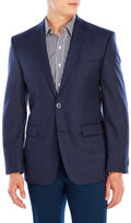 Vince Camuto Shark Plaid Wool Sport Coat