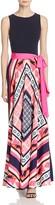 Eliza J Printed Maxi Dress