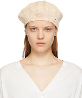 Thumbnail for your product : Y's Off-White Knit Beret