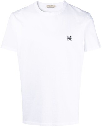 MAISON KITSUNÉ logo patch T-shirt