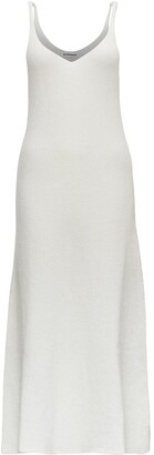 Jil Sander V-Neck Knitted Dress