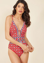 A Lasting Splash One-Piece Swimsuit in S