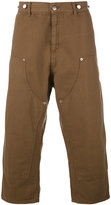 Paura Carlini cropped trousers - men - Cotton - M