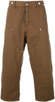 Paura Carlini cropped trousers - men - Cotton - S