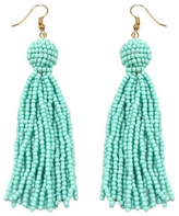 Gemma Collection Beaded Tassel Earrings