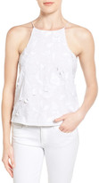 Chelsea28 Embroidered Cutaway Tank