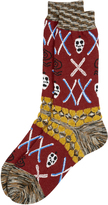 Vivienne Westwood Wall Of Spirits Socks Red One Size