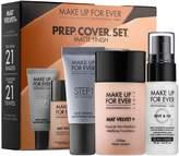 Make Up For Ever PREP. COVER. SET. Customizable Mat Velvet + Mattifying Foundation Set