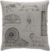 "K Studio Chicago Pillow - Small - 18"" x 18"""
