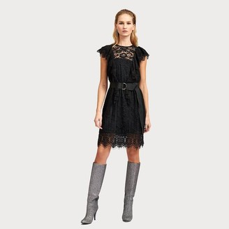 Essentiel Antwerp Vamos Dress Black - 38