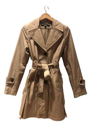 DKNY Beige Cotton Trench coats