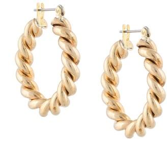 Laura Lombardi Cara hoop earrings