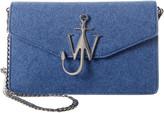 J.W.Anderson J. W. Anderson Felt & Leather Shoulder Bag