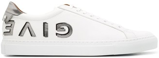 Givenchy Reverse Logo Low Top Sneakers