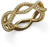 Roberto Coin 18K Yellow Gold Single Row Twisted Ring