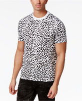 Sean John Men's Cheetah-Print Cotton T-Shirt