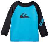 Quiksilver All Time Long Sleeve Surf Shirt (Baby Boys)