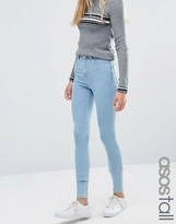 High Waist Light Blue Skinny Jeans - ShopStyle
