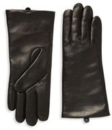 Saks Fifth Avenue Polished Leather Gloves