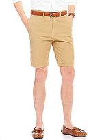 Daniel Cremieux Classic-Fit Flat-Front Solid Hampton Shorts