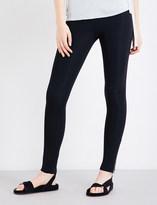 Helmut Lang High-rise stretch-jersey leggings