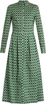 Stella Jean Dinamica geometric-print cotton shirtdress