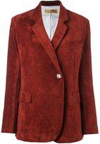 Golden Goose Deluxe Brand corduroy blazer - women - Cotton/Polyamide/Viscose - S